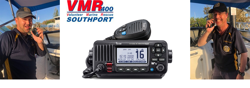 VMR Southport and Icom (Australia) Sponsorship
